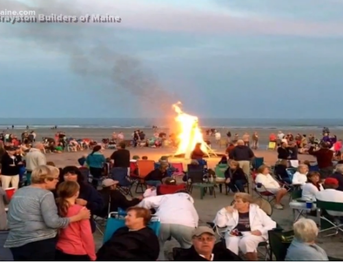 York Community Gathers at Benefit Bonfire